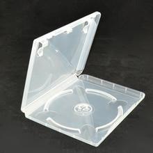 10 pcs תקליטור DVD דיסק פלסטיק מקרה קיבולת דיסק CD תיבת אחסון עבור PS3