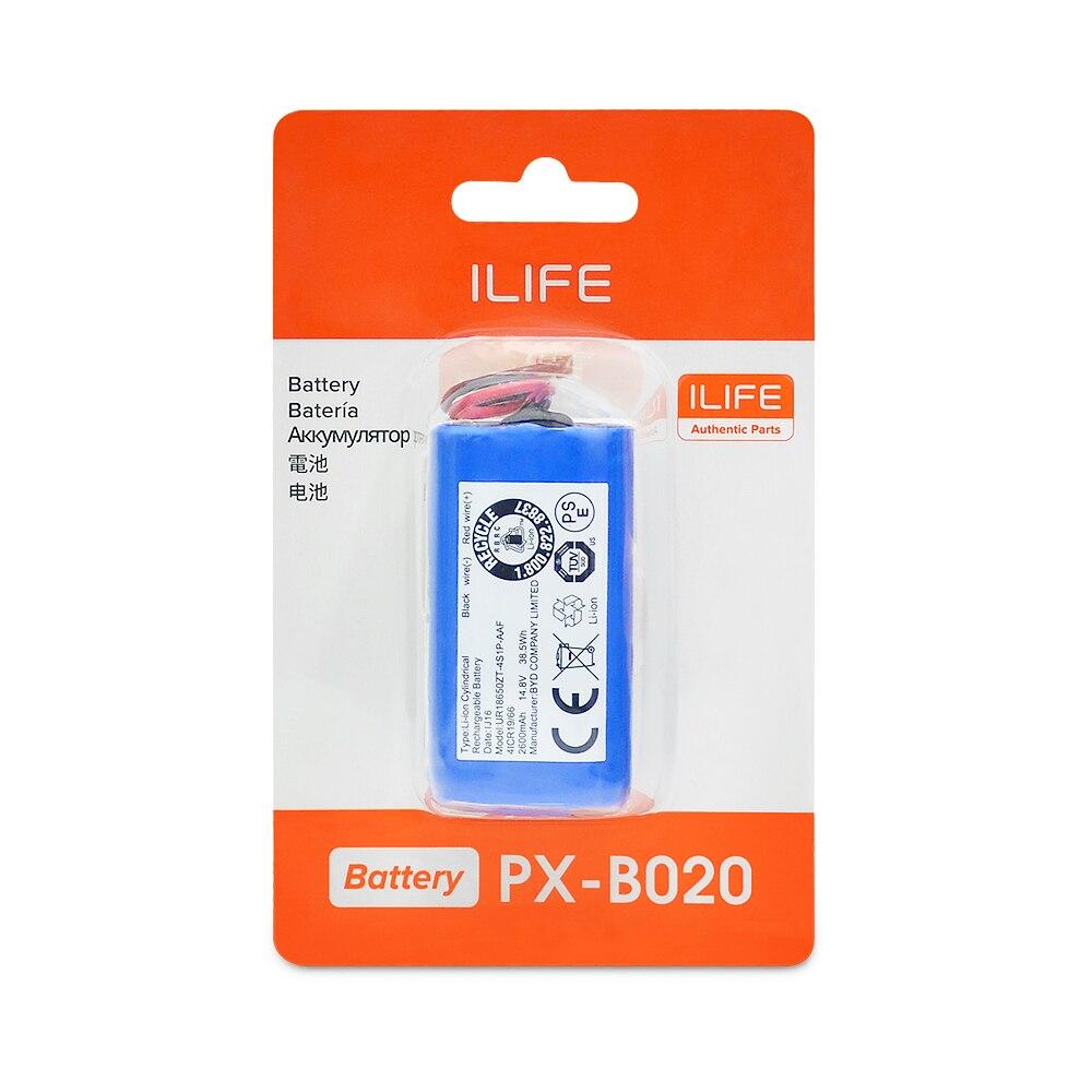 ILIFE Li-lion Battery For A4s, A7, V7s Plus, V55 Pro, W400, A9s 2600mAh 14.8V PX-B020