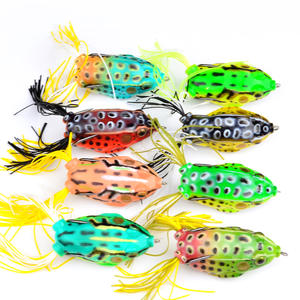 Bait Frog Fishing-Gear Jump Soft Small Crap Engaging for 8-Colors 1pcs Lifelike 6cm/13.5g