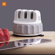 Huohou Mini piedra de afilar portátil, para cocina y hogar, ahorro de trabajo, pequeña y fácil de afilar