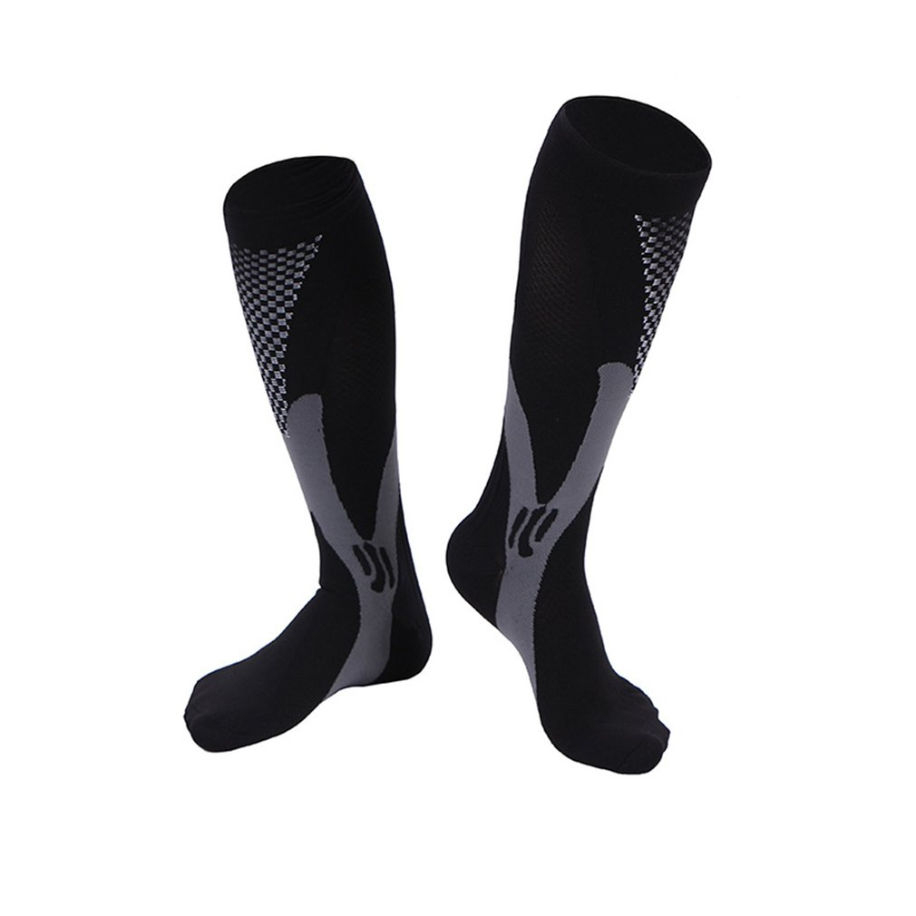 High Socks Magic Compression Socks Men Women Breathable Sports Cycling Running Stockings Soccer