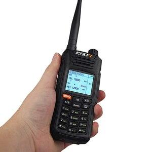 Image 3 - KSUN X UV68D (מקס) מכשיר קשר 8W גבוה כוח כפול כף יד שתי דרך רדיו חם Communicator HF משדר חובב Handy
