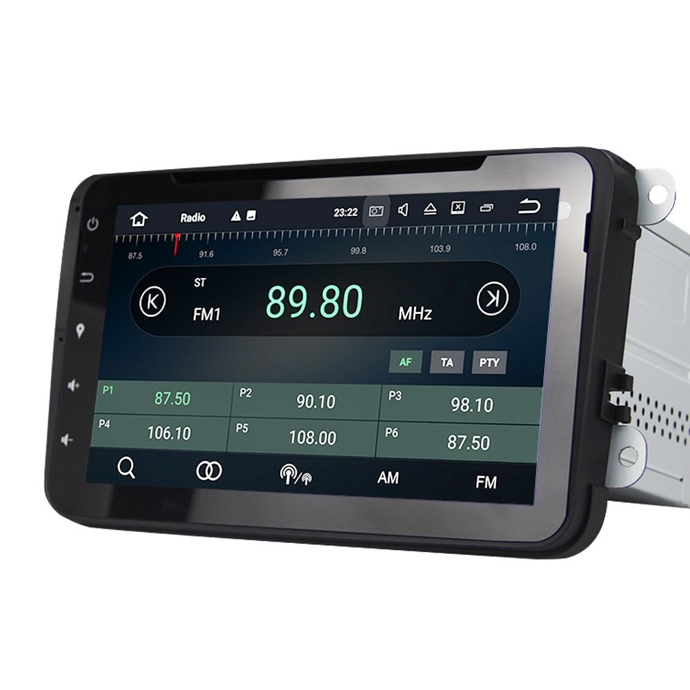 Eunavi 2 din autoradio gps multimedia-player Für VW Golf MK6 5 Polo Jetta Tiguan Passat B6 5 CC skoda Touran Android 9 4G 64GB