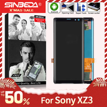 6.0 Original For SONY Xperia XZ3 Display Touch Screen Digitizer For SONY XPERIA XZ 3 LCD Replacement H9493 H8416 H9496 LCD suitable for original sony xperia z5 small lcd touch screen digitizer for sony z5 mini e5823 e5803 screen display with frame