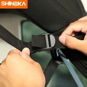 Image 3 - SHINEKA Stowing לסדר עבור ג יפ רנגלר JK JL JT 4 דלת רכב מושב אחורי אחסון תיק תא מטען אביזרי עבור ג יפ רנגלר JK JL JT