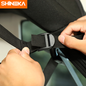 Image 3 - SHINEKA Stowing Tidying For Jeep Wrangler JK JL JT 4 Door Car Seat Back Storage Bag Trunk Accessories For Jeep Wrangler JK JL JT