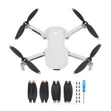 Лопасти пропеллера для дрона DJI Mavic Mini2, Лопасти пропеллера с низким уровнем шума и быстроразъемным креплением, аксессуары для дрона, 2/4/8 шт.