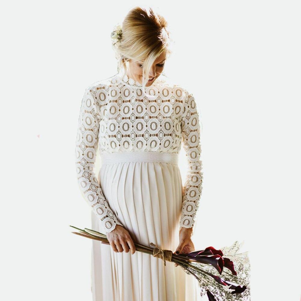 Где купить Облегающее прямое кружевное платье для беременных; реквизит для фотосессии; плиссированное платье для беременных; платья для фотосессии; Vestidos