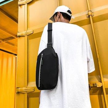 2020 New Men Nylon Waist Bag Multifunctional Fashion Chest Bag Messenger Bags Travel Wallet Mobile Phone Shoulder Bags Belt Bags