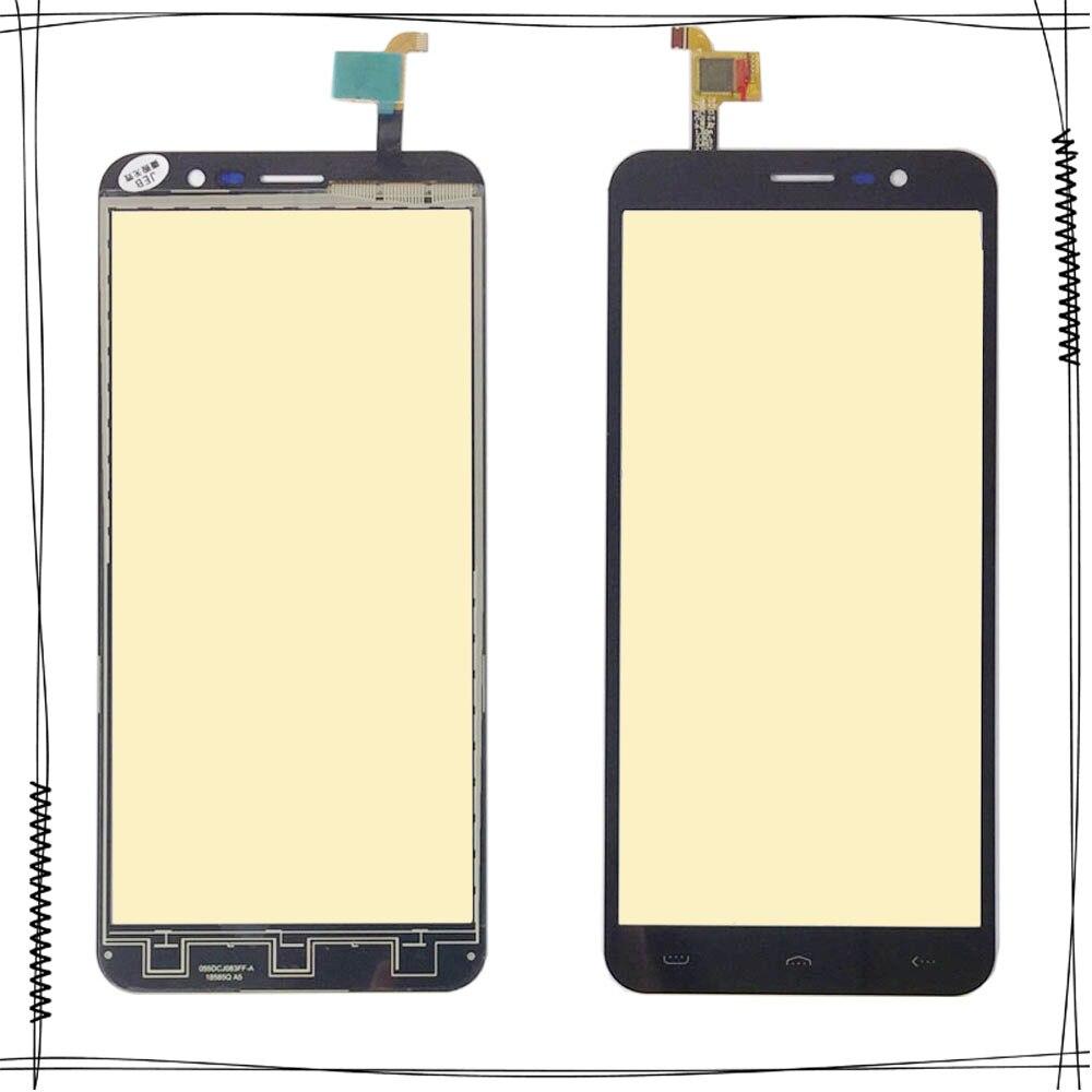Cep telefonları ve Telekomünikasyon Ürünleri'ten Cep Telefonu Dokunmatik Paneli'de Dokunmatik Panel Sensörü dokunmatik ekran digitizer HOMTOM S16 S 16 dokunmatik ekran digitizer Ön Cam Panel Sensörü Siyah renk title=