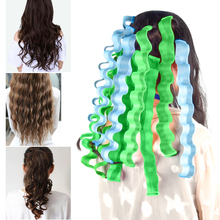 Curler Magic-Hair No-Heat Wave-Roller-Sticks Hairstyle Makeup Beauty DIY Long 18pcs Durable