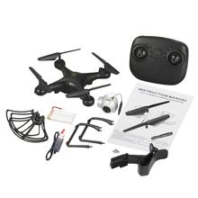 Utoghter 15/20 Minutes Flying 3D-flip Headless Mode 0.3MP WiFi RC Quadcopter Altitude Hold One-key Return Drone Model Toys Gift(China)