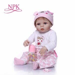 Boneca infantil modelo 55 centímetros renascer bebê boneca venda quente recomendado venda quente