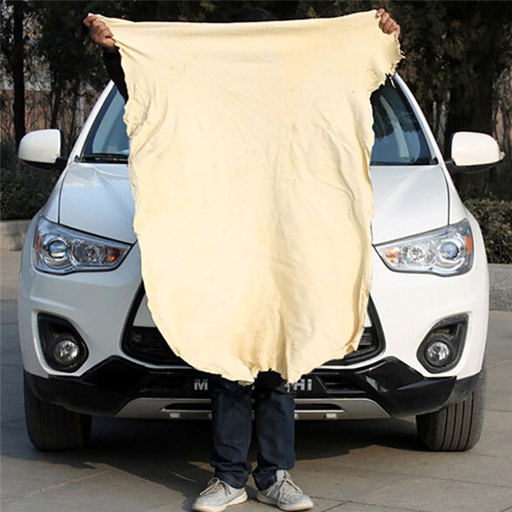 Paño de limpieza de coche de cuero Natural de gamuza absorbente toallas de secado rápido herramientas de limpieza de coches Estilo japonés Lino algodón borla mantel Rectangular borde mantel letra impresa a prueba de polvo toalha de mesa