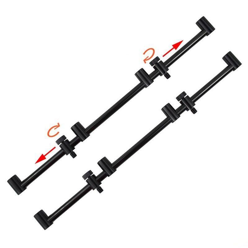 Aluminium Alloy Fishing Rod Stand Holder Windproof Anti Falling Snag Bar Connector For Bite Alarm Carp Fishing Supplies Bracket|Fishing Rods| |  - title=