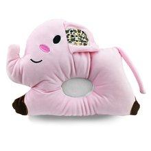 Lovely Cartoon Elephant Shape Newborn Baby Pillow Comfortable Flat Head Sleeping Positioner Support Cushion
