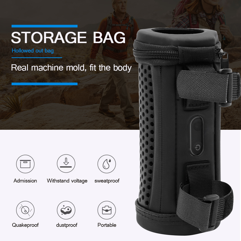 Hollow BT Speaker Storage Bag Portable Case Electronic Equipment Accessory Hard Shell Protective Carrying Case for JBL Flip 5