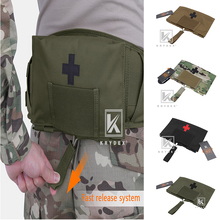 """KRYDEX Tactical LBT9022 custodia per kit medico di tenuta 5.5 """"* 9"""" cintura MOLLE modulare a sgancio rapido borsa di stoccaggio per emergenza esterna"""
