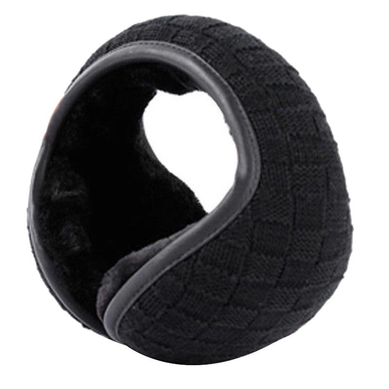 Warm Earmuff Men Women Kitted Ear Muffs Plush Adjustable Winter Headband For Sport Cycling Riding NFE99