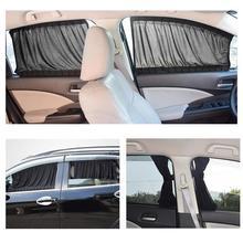 Car Window Cover Sun Shade Sided Curtain Anti-UV Drape Valance Privacy Protect Curtains