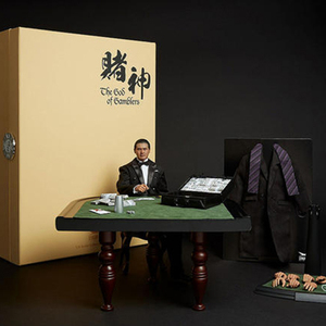 1/6 conjunto completo Dios de los jugadores Gao Jin Chow Yun cuchillo gordo Lau Andy MODELO DE figura de acción Juguetes