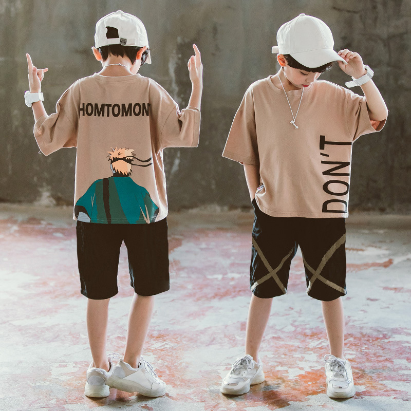 Boys' Fashion O-Neck Clothing-Sets