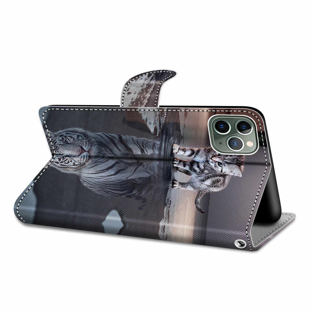 Fall Für Huawei Y7 Y5 Y6 2019 Flip Fall Brieftasche Abdeckung Für Huawei P Smart Plus 2019 Fall Leder Luxus stand Card Slot Halter Tasche
