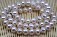 classic 9 10mm south sea white pearl necklace 19inch Pearl Necklace