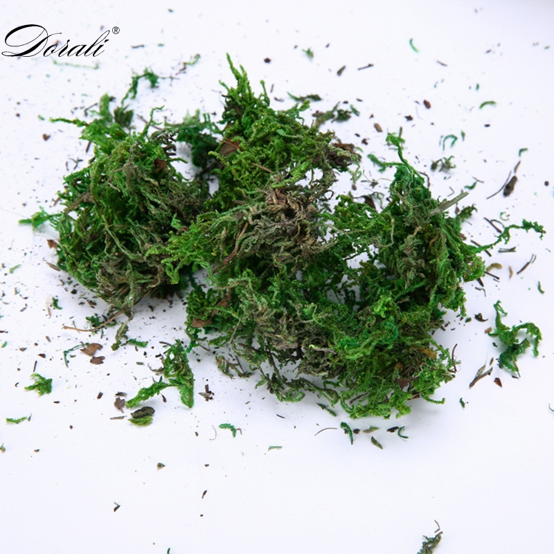 FAKE Artificial Dried Reindeer Turf Decor Moss For Flowers Grass Basket Plant Home Garden Garland Wedding Party DIY Decoration