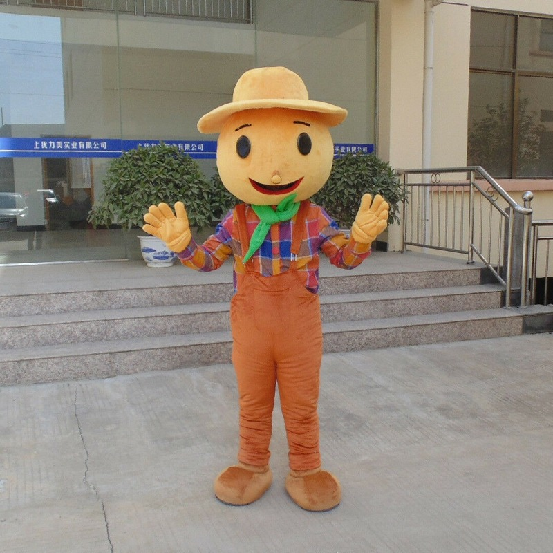 Scarecrow Mascot Costume Suits Adult Outfit Cosplay Dress Performance Props New Handmade Interesting Cartoon Character Clothing