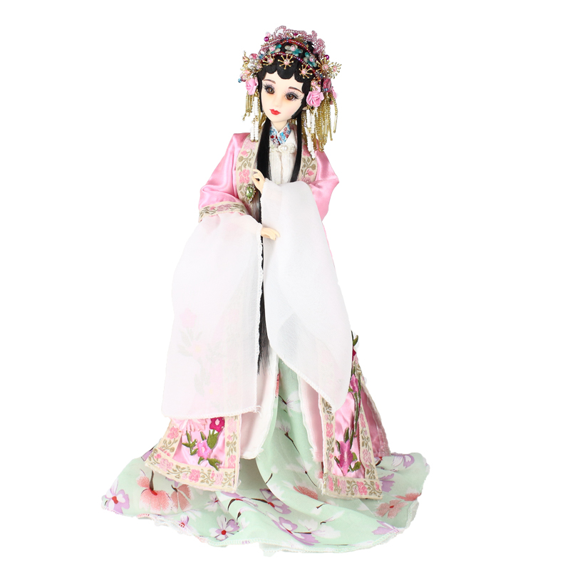 Original Design Chinese Peking Opera Dolls Collectible Pretty Lady Du Doll Handmade Girl Toys Birthday Gifts D1010 image