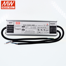 Power-Supply Led-Driver 240W HLG-240H-48B Well-Dimming Ip67-Transformer MEAN 48v Dc 5A