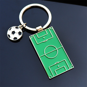 Auto Keychain Football Field Pendant for BMW E46 F25 X1 X5 F10 M3 F800GS E84Z3 Z4 E93 E61 E53 X5 320I X6 Car Accessories image