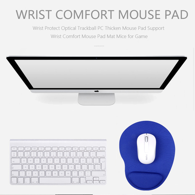 Mouse Pad with Wrist Support for School Office Thicken Mousepads Gamer Mice mats for Desktop PC Computer Laptop 4