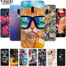 For Meizu M8 Case Cover Soft TPU Print T