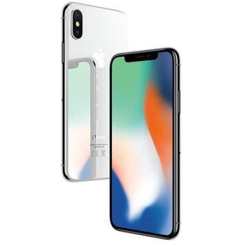 Перейти на Алиэкспресс и купить Для смартфона APPLE iPhone X 64G оригинальное ПЗУ 5,8 дюймразблокированный iOS 4G RAM iOS A11 используется мобильный телефон Realme чехол для телефона