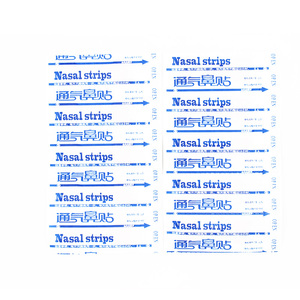 Image 2 - 50pcs/lot New 2019 Anti snoring Sleeping Nasal Strips Stop Snoring Easier Snore Stopper Strips Nose Patch Health Care sets