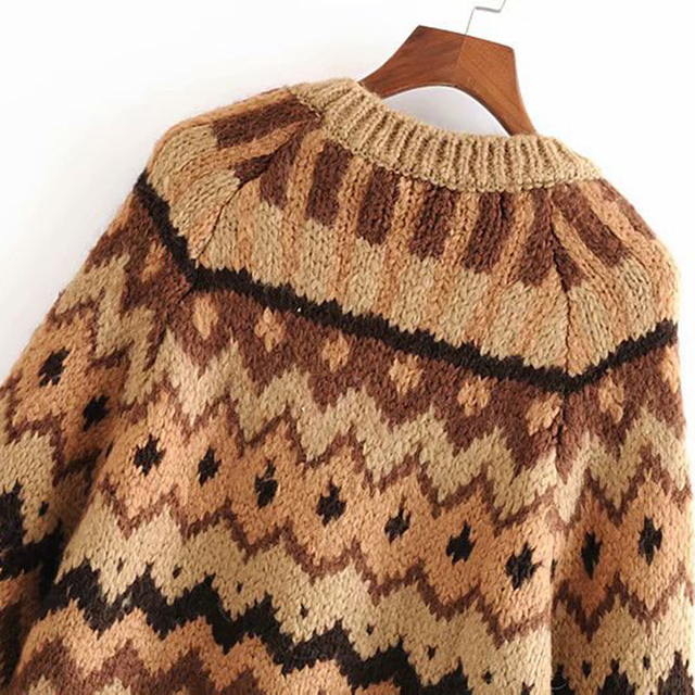 Vintage Style Knitted Sweater 3
