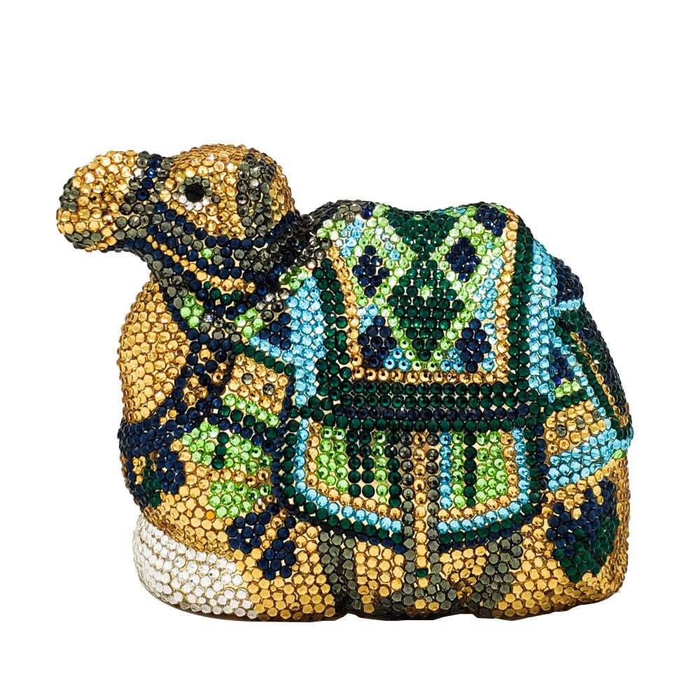 Boutique De FGG Unique Design Diamond Camel Clutch Minaudiere Handbag Women Crystal Evening Bags Wedding Cocktail