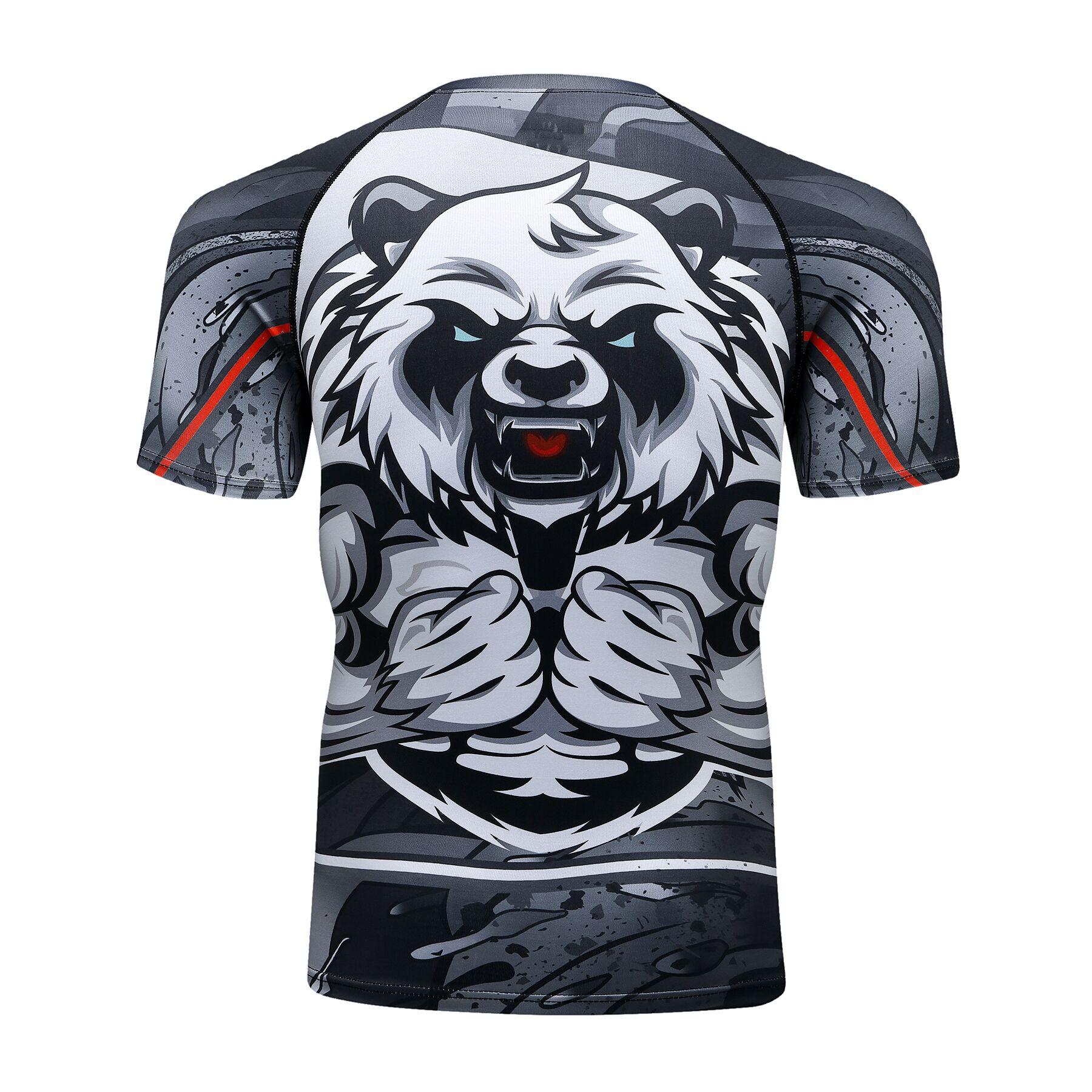 Camiseta e calça para homens, camiseta fitness