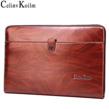 Celinv Koilm Men Clutch Bag Large Capacity Men Big Wallets Phone Passcard Pocket High Quality Multifunction Boss Handbag For Men