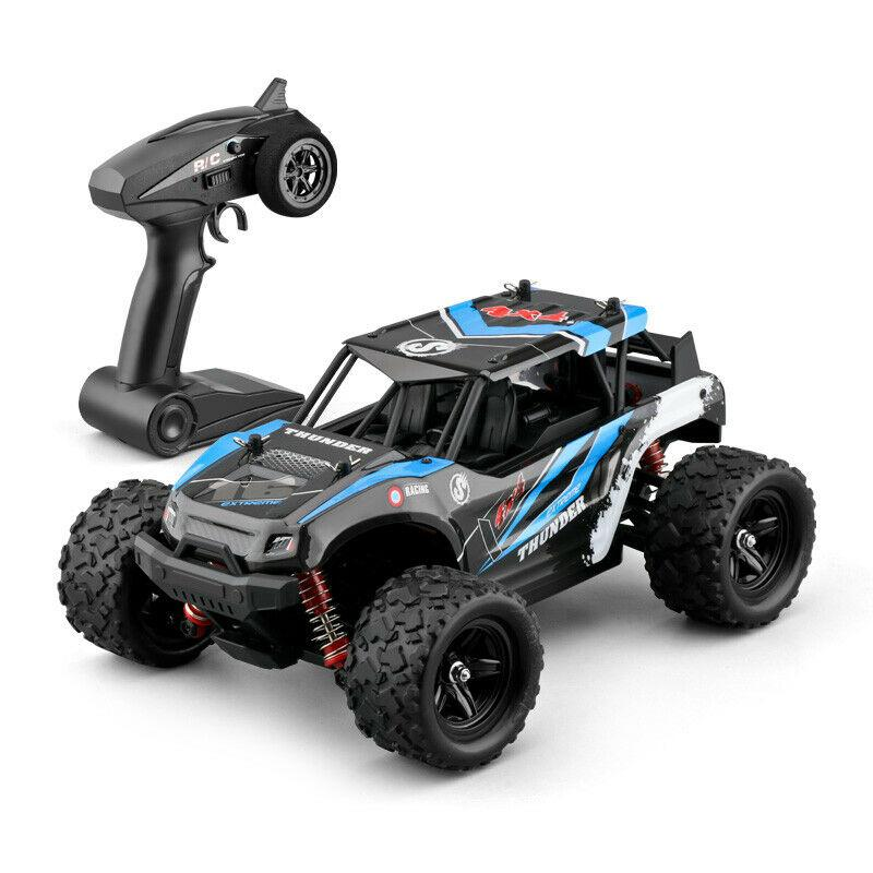 RCtown 40+MPH 1/18 Scale RC Car 2.4G 4WD High Speed Fast Remote Controlled Large TRACK HS 18311/18312 RC Car Toys