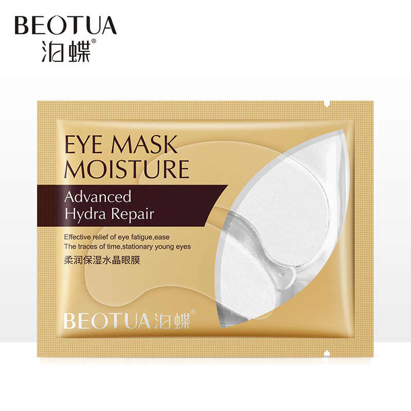 24 Gold Eye Mask Nourishing Whitening Moisturizing Hydration Eye Patches Dark Dircles ลบริ้วรอย Anti-Puffiness Skin Care