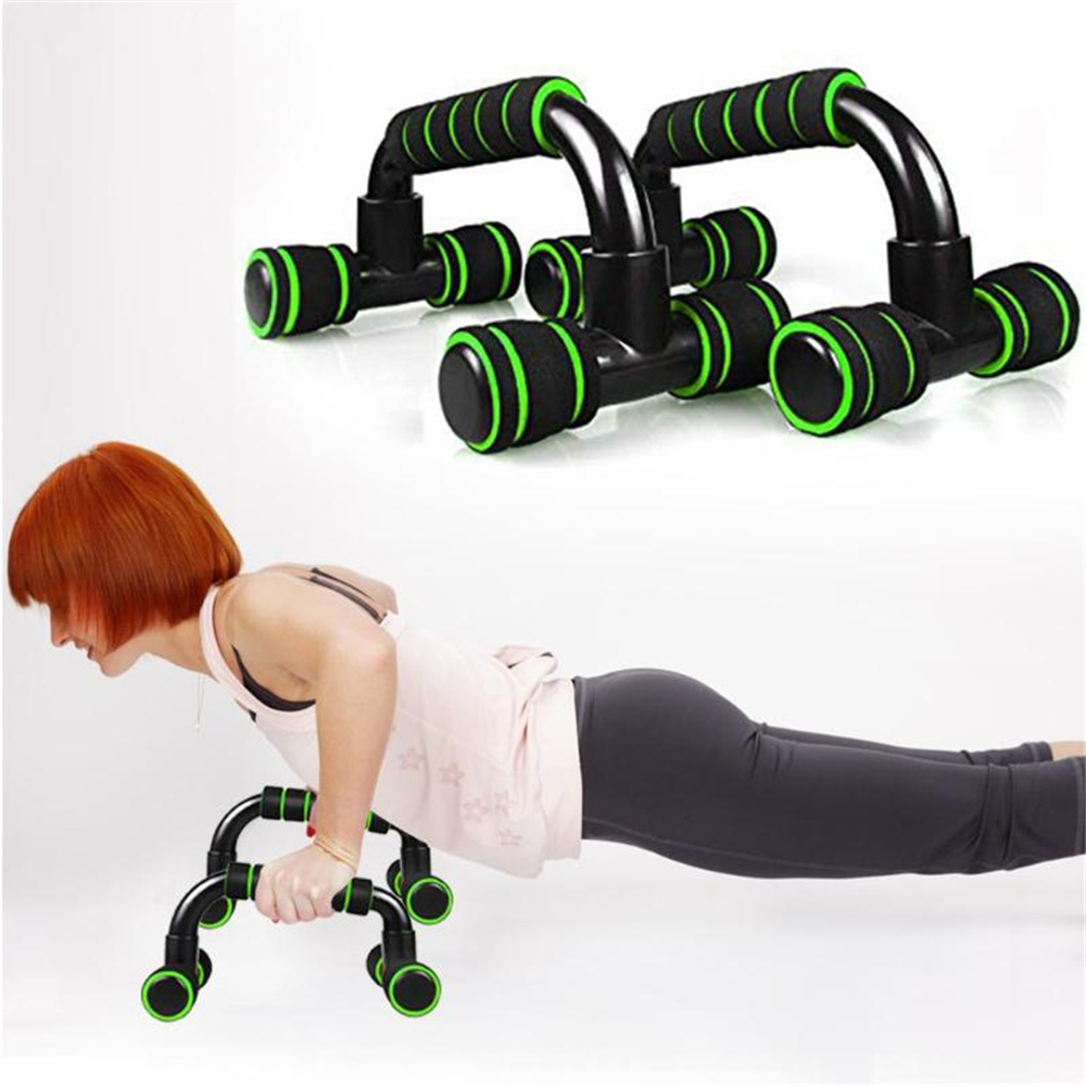 1 Pair Fitness <font><b>Push</b></font> <font><b>Up</b></font> Bar Stands Bars For Chest Muscles Exercise At Home Gym <font><b>Sport</b></font> Training <font><b>Push</b></font>-<font><b>Ups</b></font> Fitness Equipments Machine image