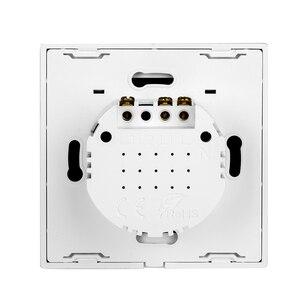 Image 3 - Сенсорный выключатель, светильник, поддержка WIFI, подключение к сети, мобильный телефон, приложение, умное управление, RF беспроводной пульт дистанционного управления, AC110V 220V