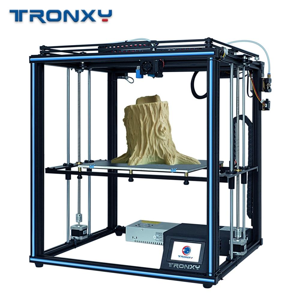 TRONXY 3D Printer X5SA ulepszona wersja 24V wysokiej jakości druk 3D duża płyta do zabudowy 330*330mm 24V zasilacz i Hotbed