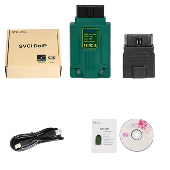 SVCI DoIP JLR Diagnostic Tool with PATHFINDER and SDD V159 Cover 2005-2019 with Online Programming Function