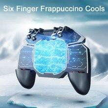 New Phone Game Controller 6 Finger Trigger Joystick