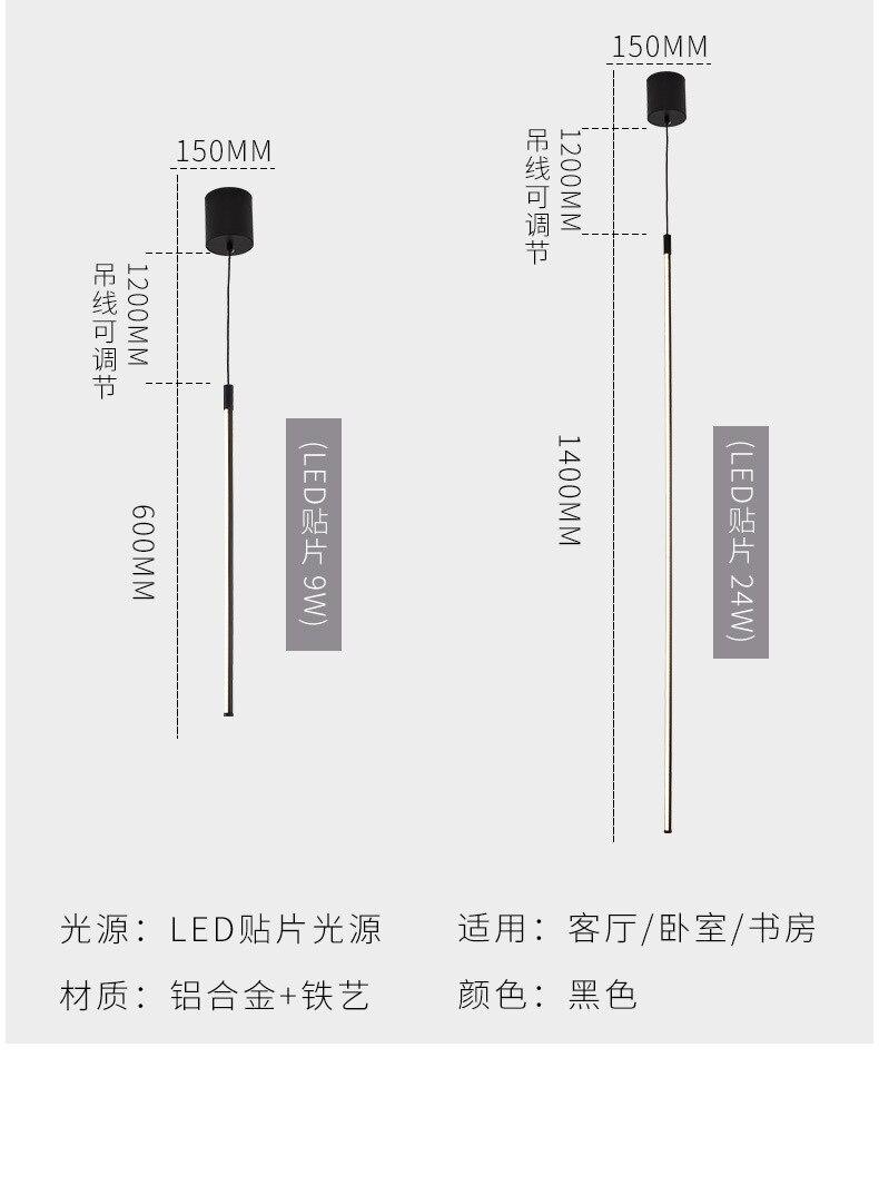 led alumínio vertical lâmpada mesa criativo lâmpadas