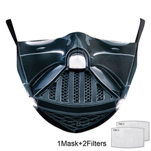 Masks-Cover Face-Mask Mascarillas Printed Washable Adult with And 2-FREE-FILTER Anti-Pm2.5